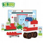 BiOBUDDi - Hospital - Eco Friendly Block Set - 39 Blocks